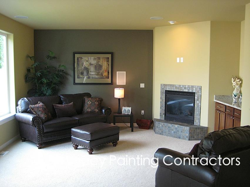 Interior residential painting portfolio legacy painting for Interior contractors