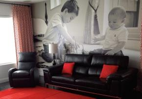 Personalized Wall Mural