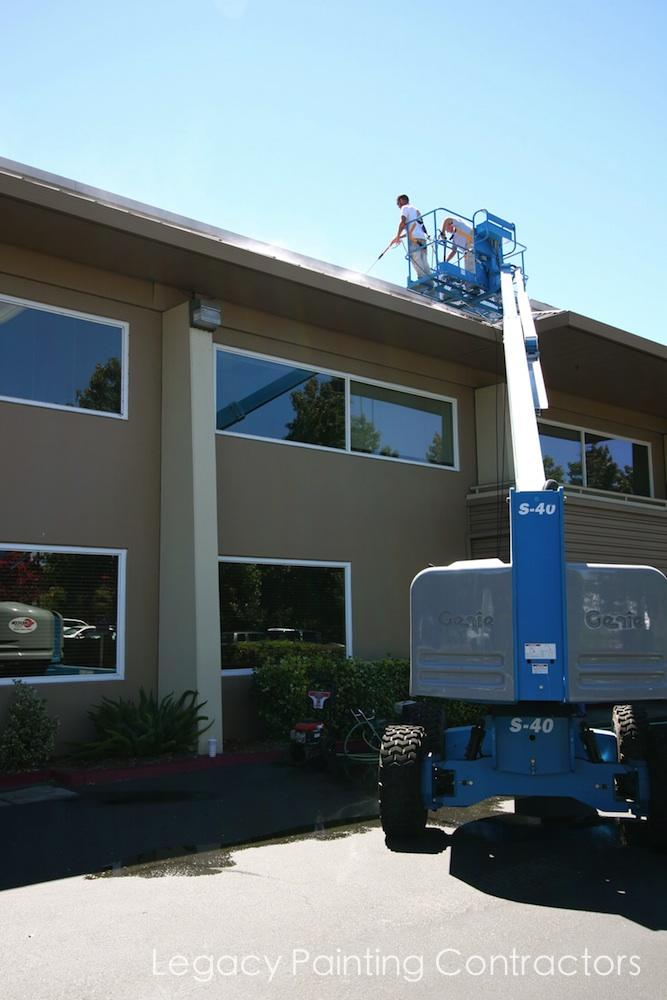 Metal Roof Painting Project Pleasanton Ca Legacy