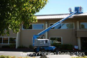 Metal roof sanding