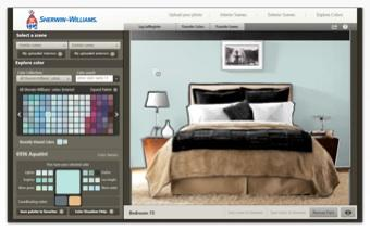 Sherwin Williams Paint Color Visualizer