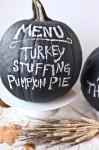 Black Chalkboard Pumpkin