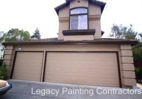 Exterior house painting in Livermore, CA.